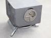 secure lock on corner casting and twist lock