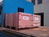 shipping container accessories packed boxes loaded on truck