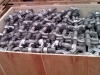 shipping container weldable twist locks and bridge clamps boxed
